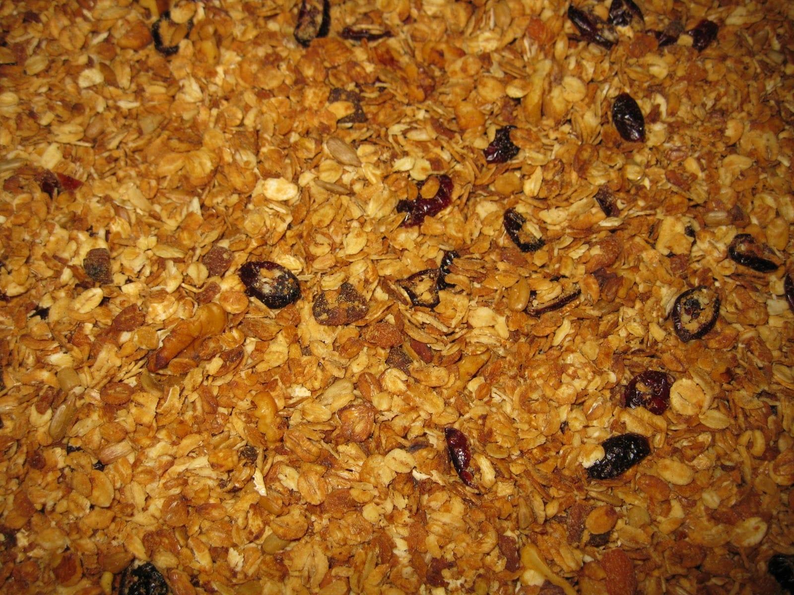 Crock-pot Gluten Free Granola