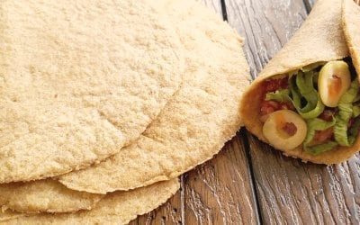 Flax Meal Tortillas