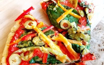 Vegan/Gluten Free Pizza Crust