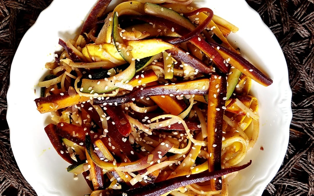 Vegetable Thai Pasta