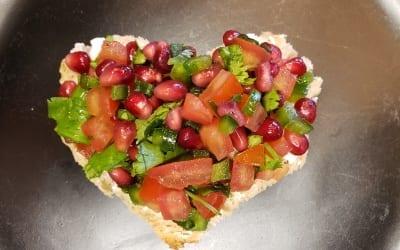 Pomegranate Salsa