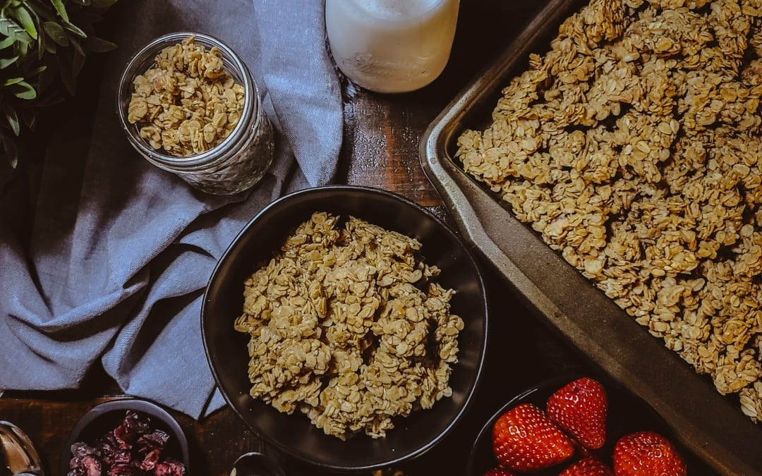 Low Fodmap Nut Granola